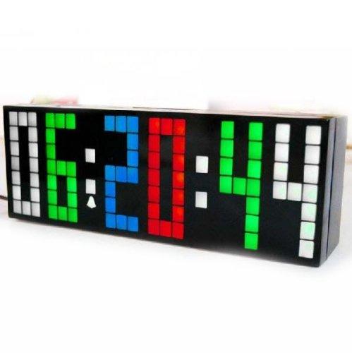 Digital Large Big Number Jumbo LED snooze wall desk Alarm clock