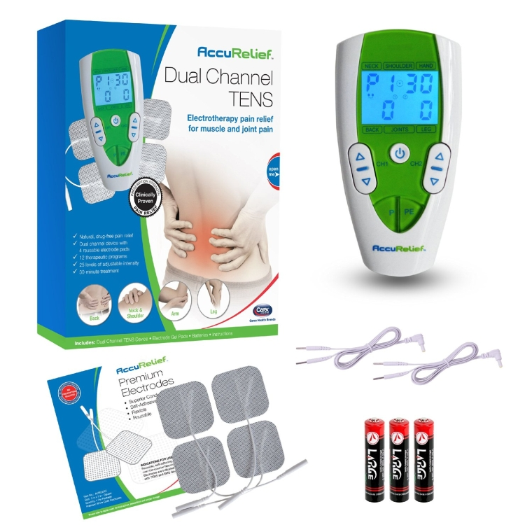 Dual Channel TENS Electrotherapy Pain Relief System
