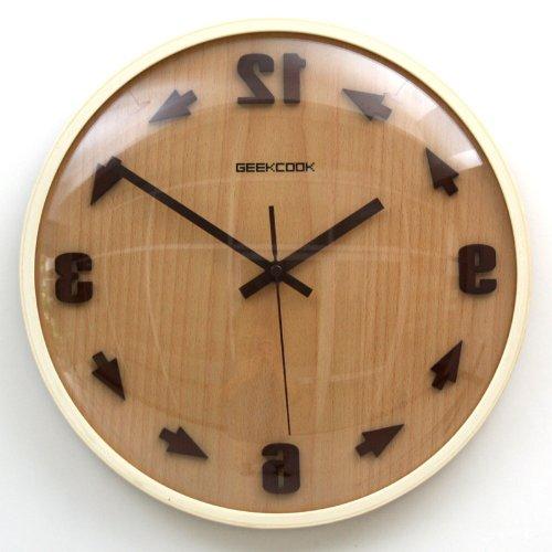 Geekcook Counter-Clockwise Wall Clock