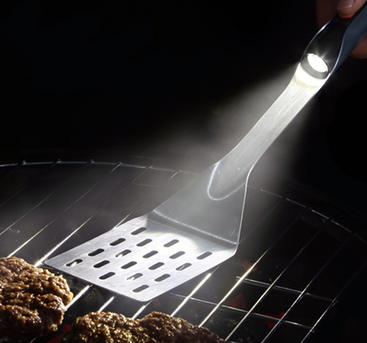 Grill It Up Flashlight Grilling Spatula