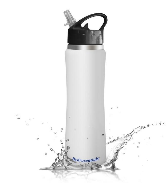 Hydracentials Sporty 25 Oz Insulated Stainless Steel Water Bottle