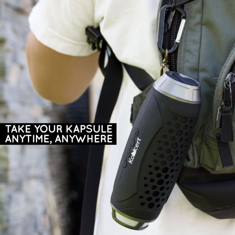 Kapsule ALL In One Portable NFC Bluetooth Wireless Speaker