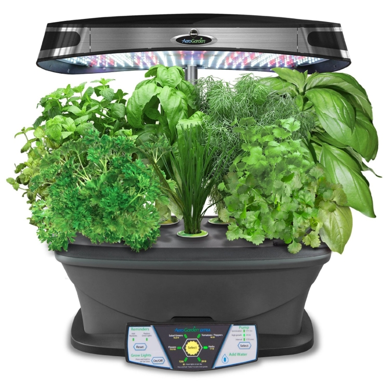 Miracle-Gro AeroGarden Extra LED Indoor Garden with Gourmet Herb Seed Pod Kit