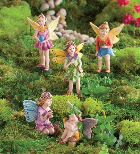 Nature Themed Fairies