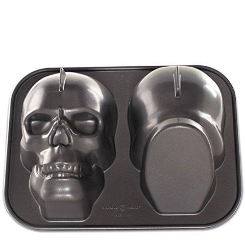 Nordic Ware 3 D Skull Cake Pan