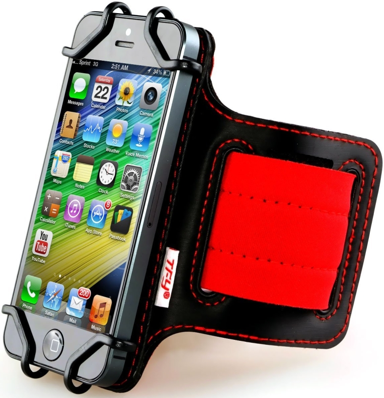 Open-Face Sport Armband Key Holder