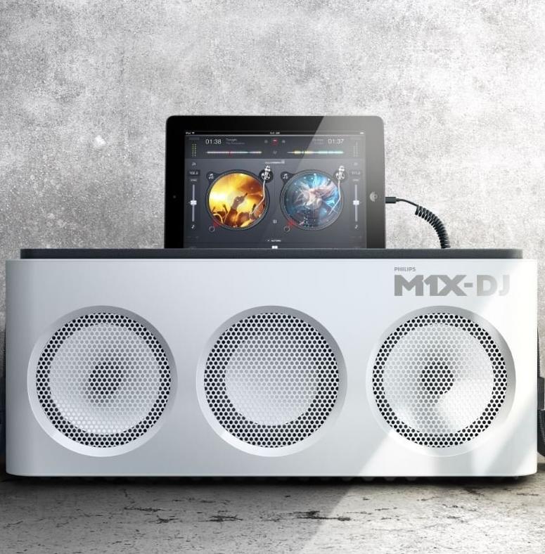 Philips DJ Sound System Docking Station and Bluetooth