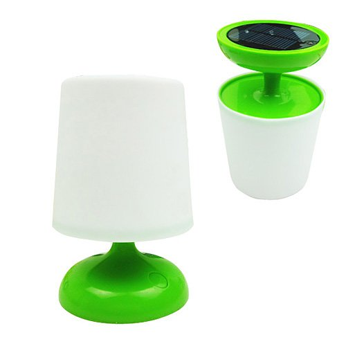 Solar Powered Table Light with LED Light
