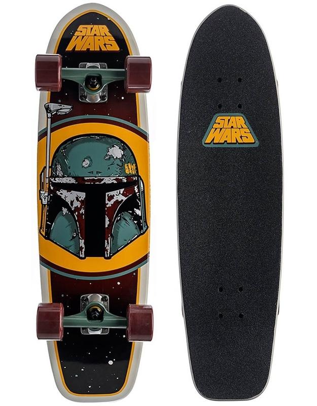Star Wars Boba Fett Cruzer Complete Longboard