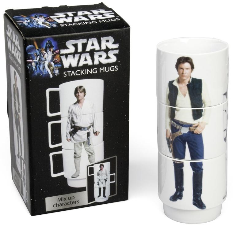 Star Wars Stacking Mugs