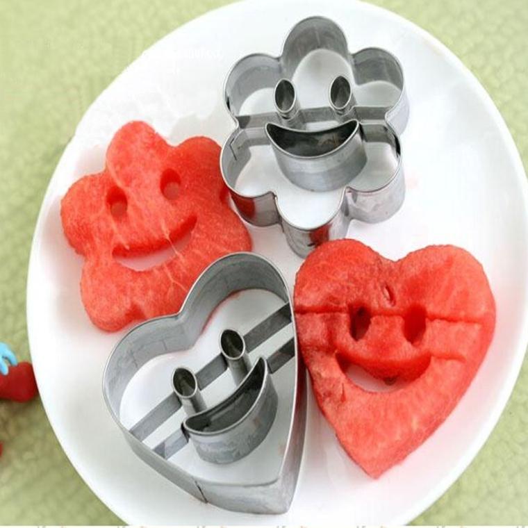 Steel FruitVegetable SlicersCutters Cookie Cutter