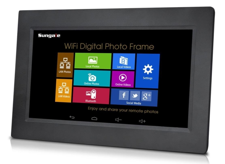 Sungale Inch Wi-Fi Digital Photo Frame