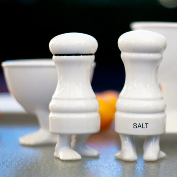 The Efeet Collection Salt and Pepper Shakers
