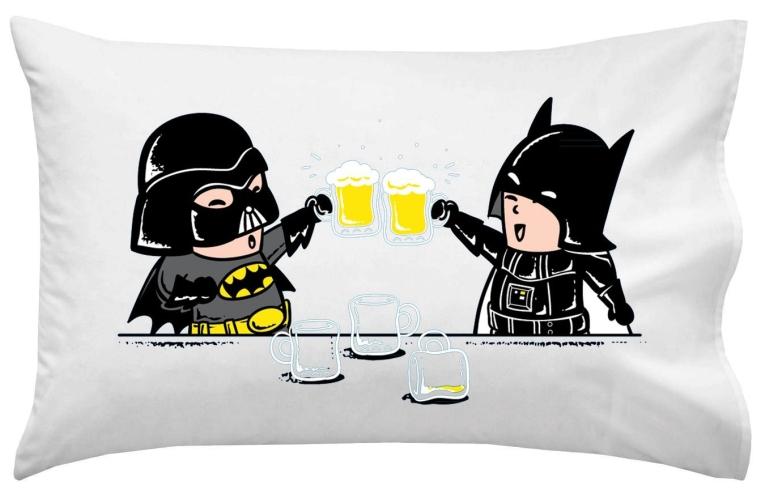 Villain Super Hero Movie Parody pillow Case