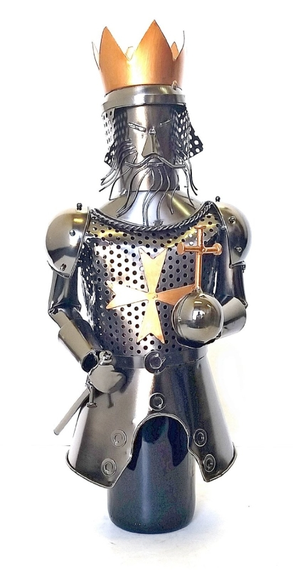 Wine Holder Medieval King