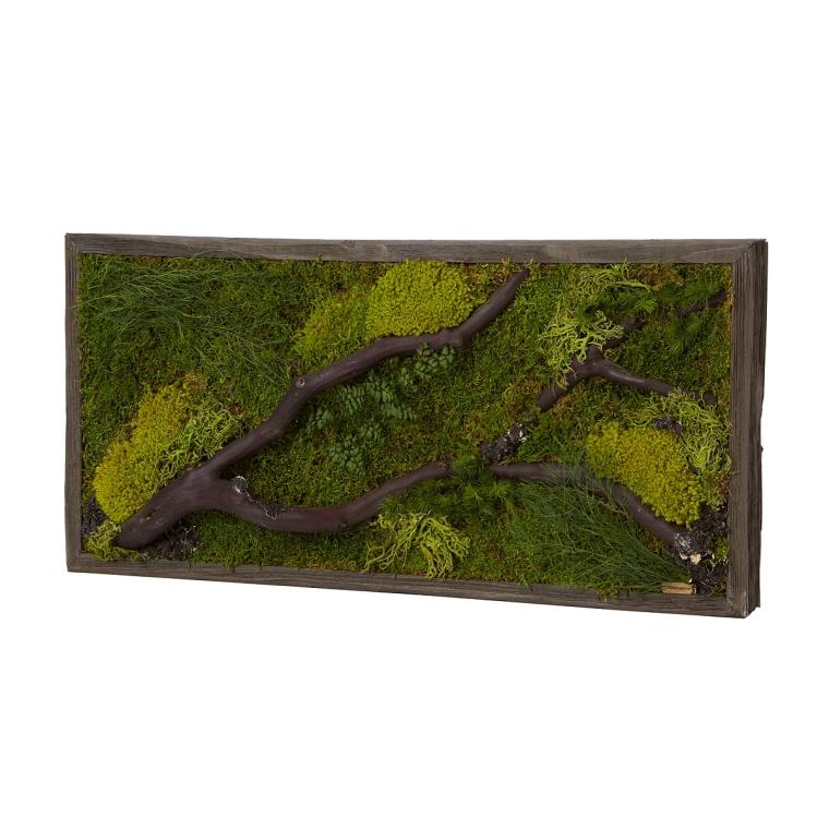 woodlands green wall art