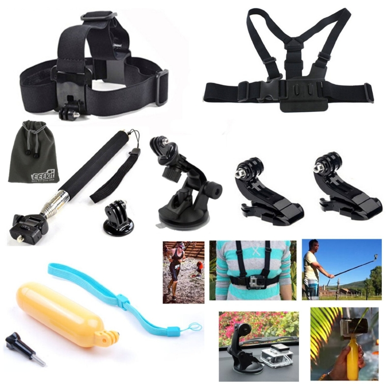 8-in-1 Accessories Kit for Gopro HD Hero