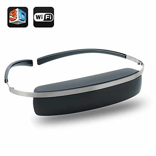 98 Inch 2D3D Virtual Screen Wireless Wi-Fi Video Glasses
