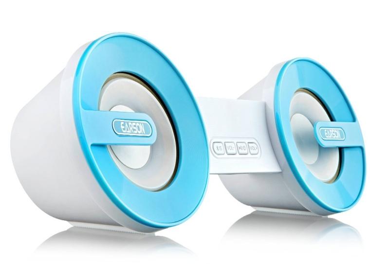 Audio Bluetooth Wireless Speaker with Enhanced Bass Resonator