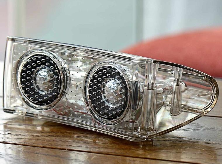 Crystal Clear Bluetooth Led Light Speaker