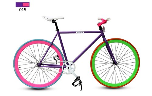 Dekota Single Speed Fixie Road Bike Fixed Gear Bicycle