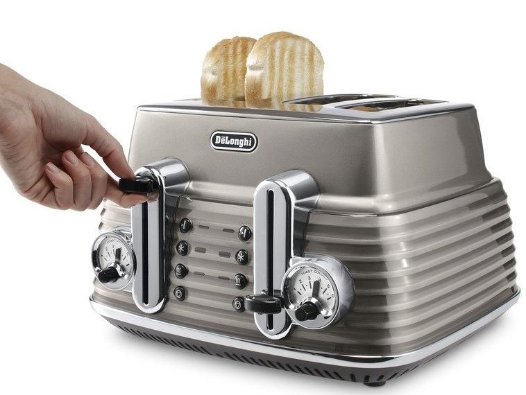 Delonghi Scultura Toaster 4 Slots Bronze