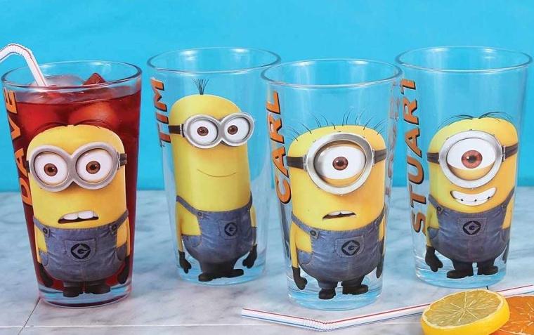 Despicable Me 2 Minions Glass Set