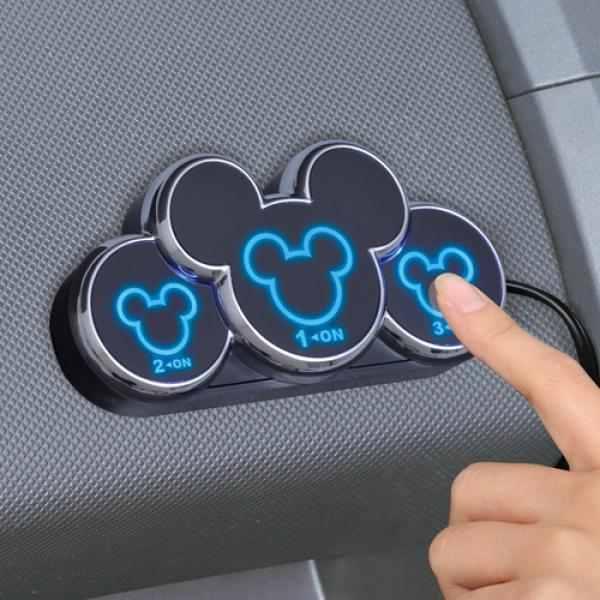 Disney Character USB Touch Sensor Socket