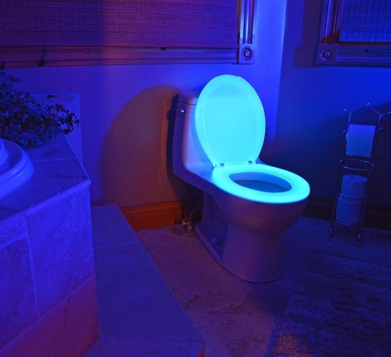 Glow in the Dark Neon Toilet Seat