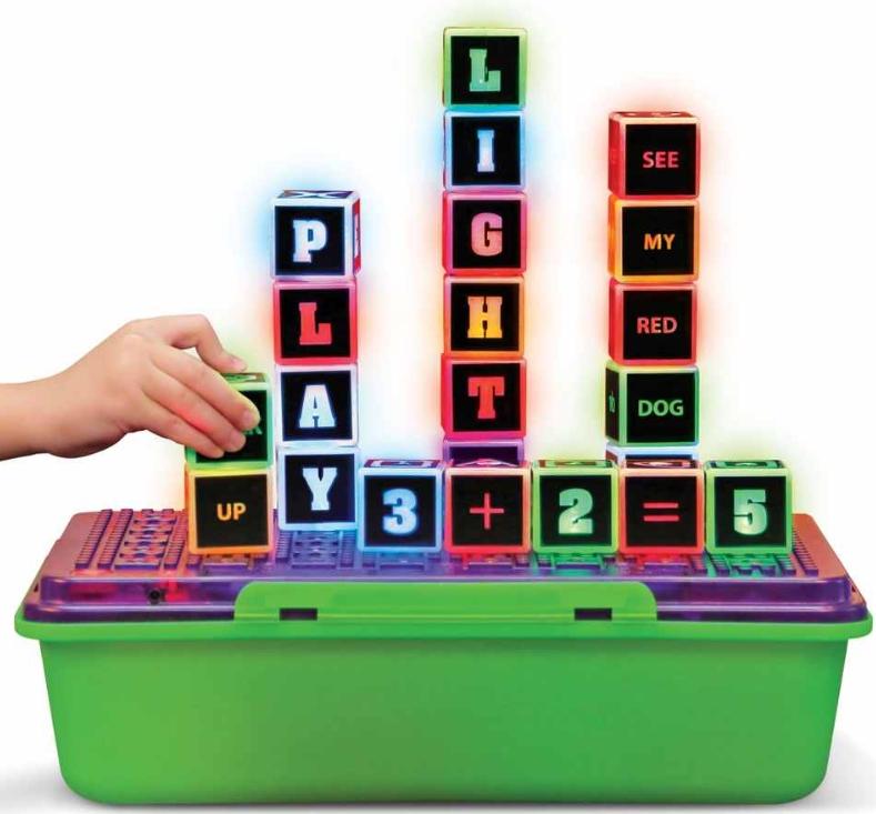 Illuminated Learning Blocks