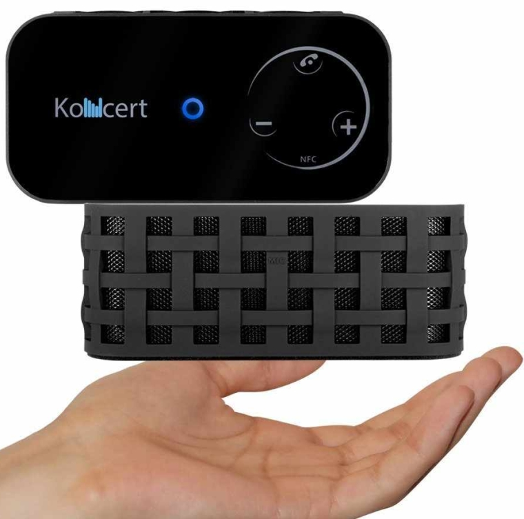 KONCERT Portable NFC Bluetooth Wireless Speaker with Call Speakerphone