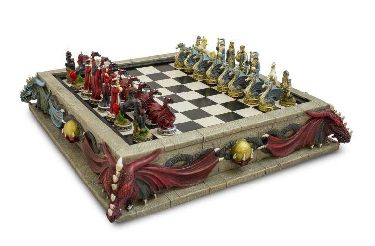 Mythical Kingdom Chess Set