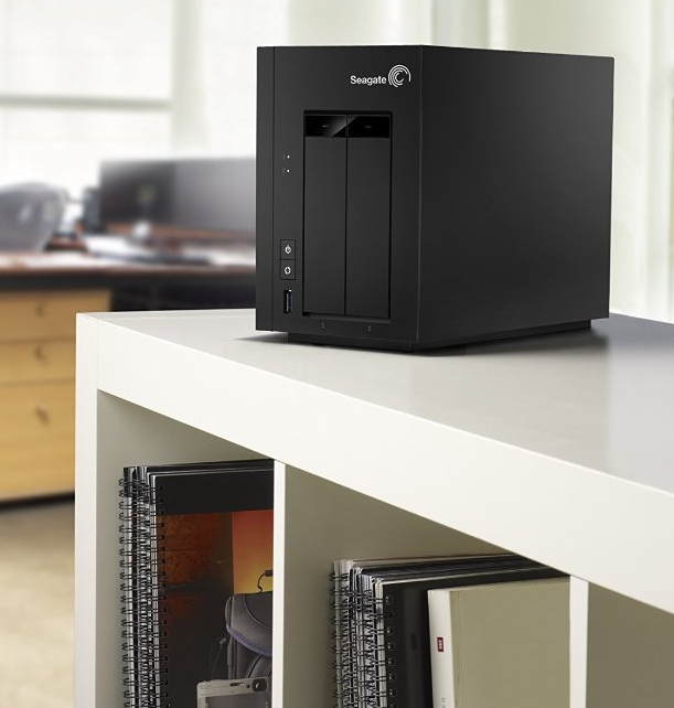 Seagate NAS 2Bay 10TB Network Attached Storage Drive