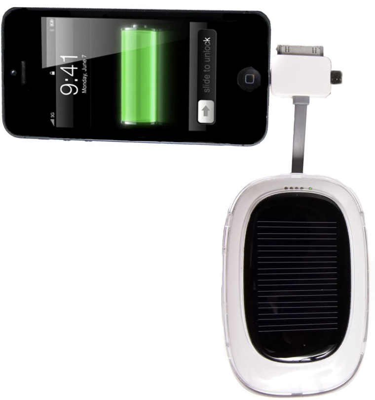 Sol'r Max Pro 3000mAh Solar Powered iPhone Charger