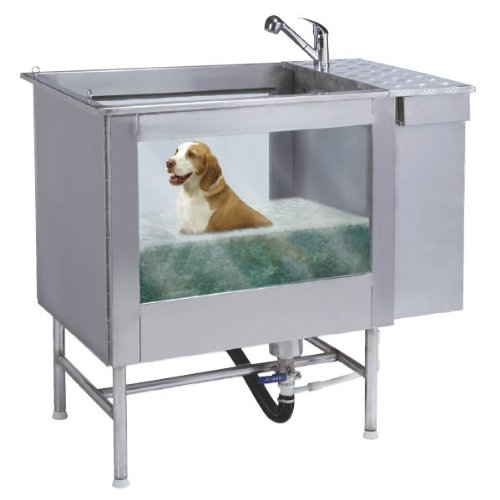 Stainless Steel Hydro Heal Dog Spa