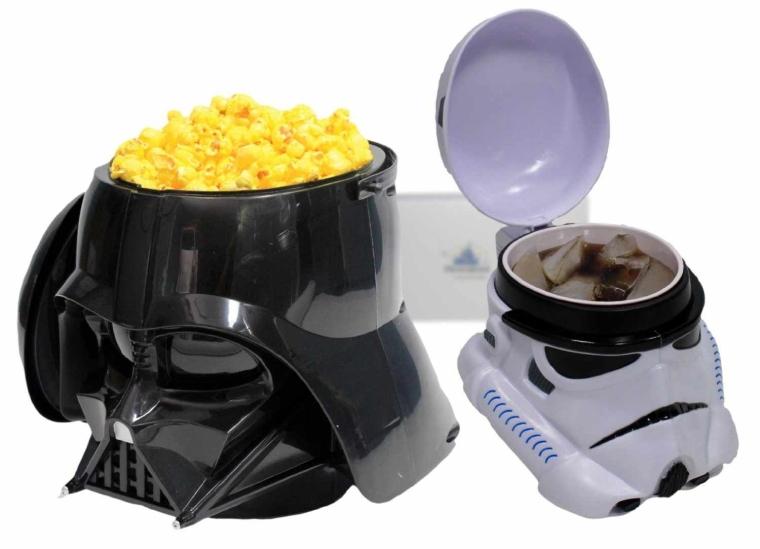 Star Wars Weekend Darth Vader Popcorn Bucket and Stormtrooper Mug