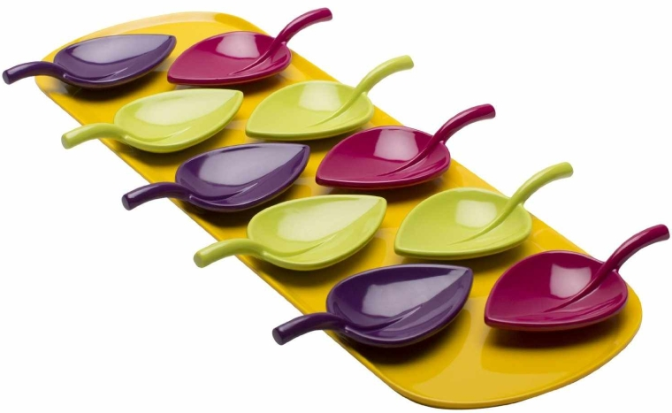 Tasting Spoons with Tray Set