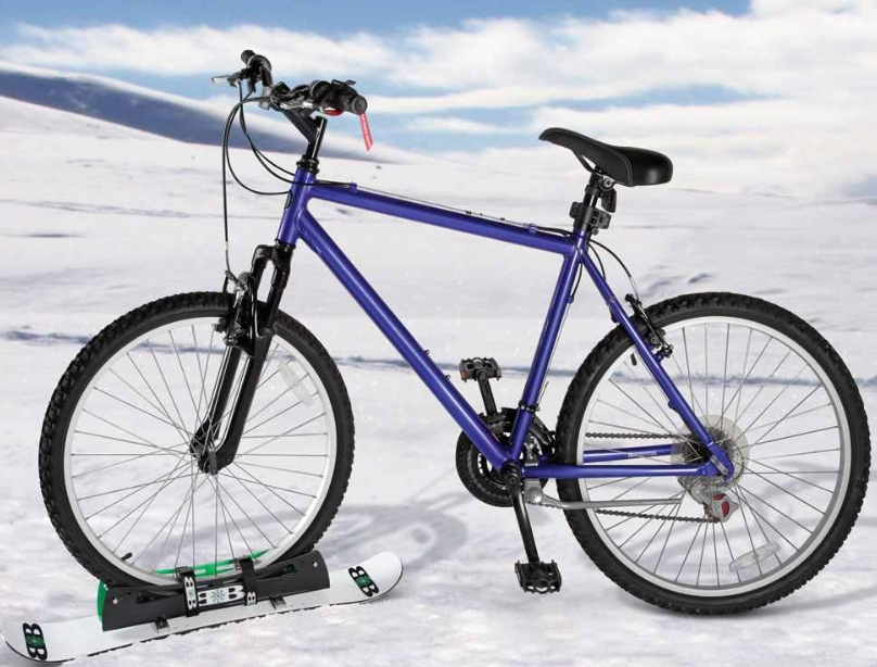 The Bike Snowboard