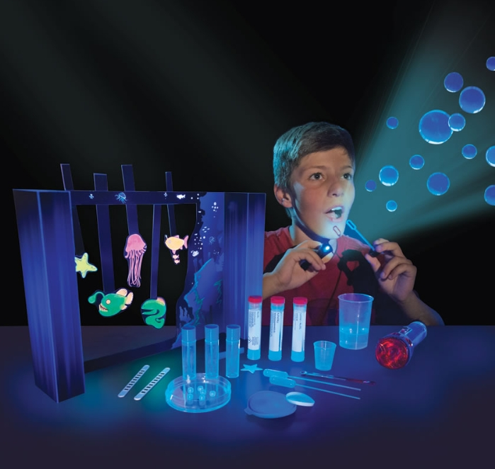 The Glowing Chemistry Set