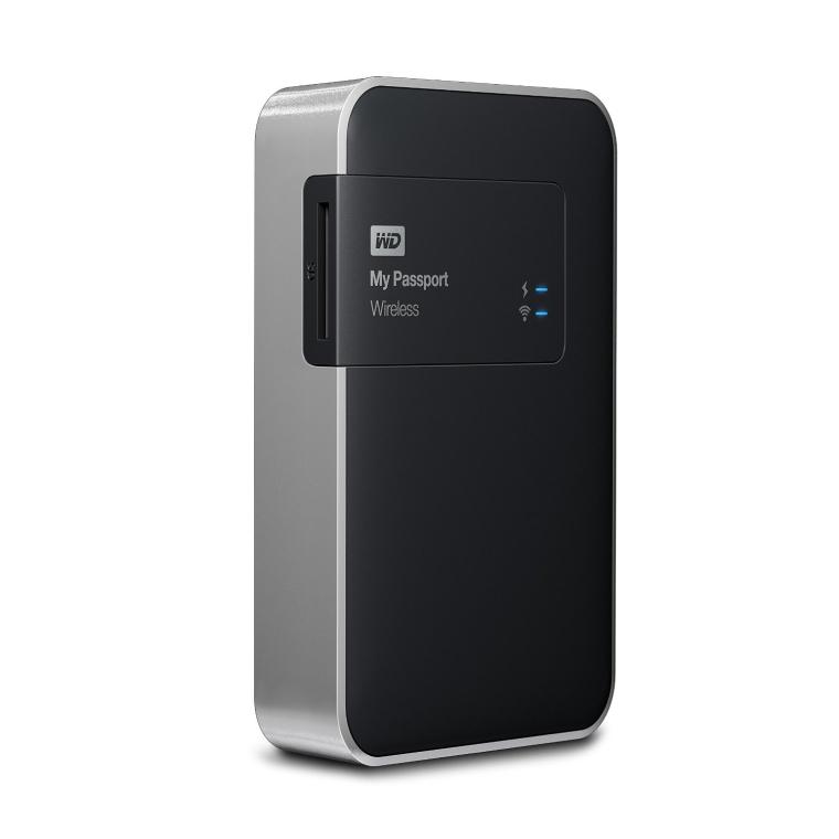 WD My Passport Wireless 2 TB Wi-Fi Mobile Storage