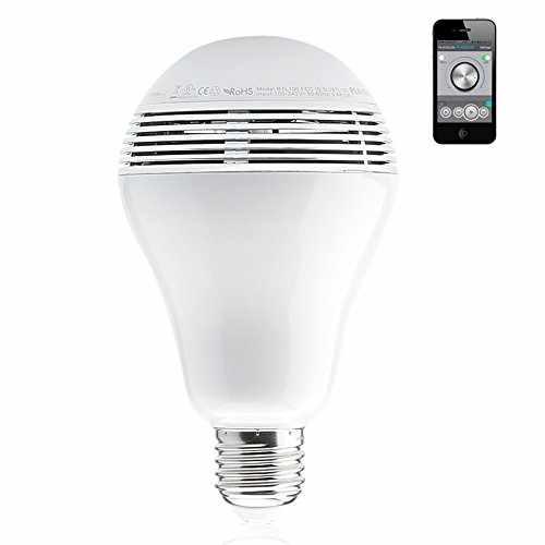 Wireless Bluetooth 4.0 Smart LED Light Bulb Speaker