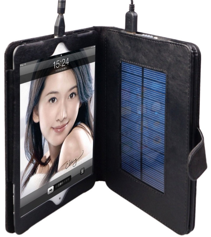 iPad Mini Battery Case with Solar Charger by Suria Charger