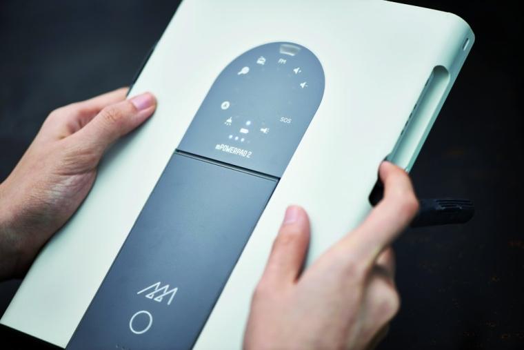 mPowerpad 2 xPlore solar charger