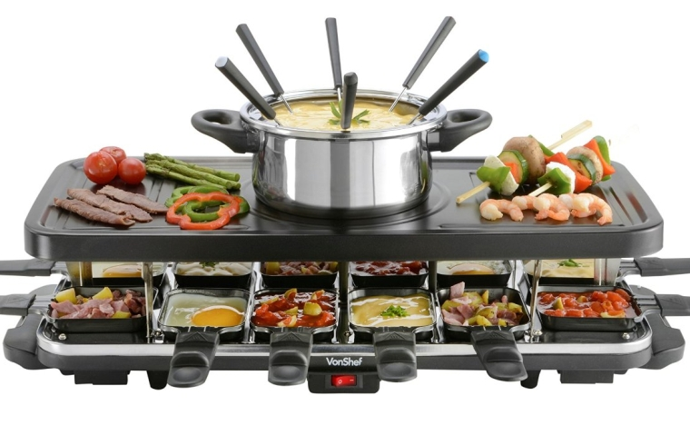 12 Person Raclette Grill