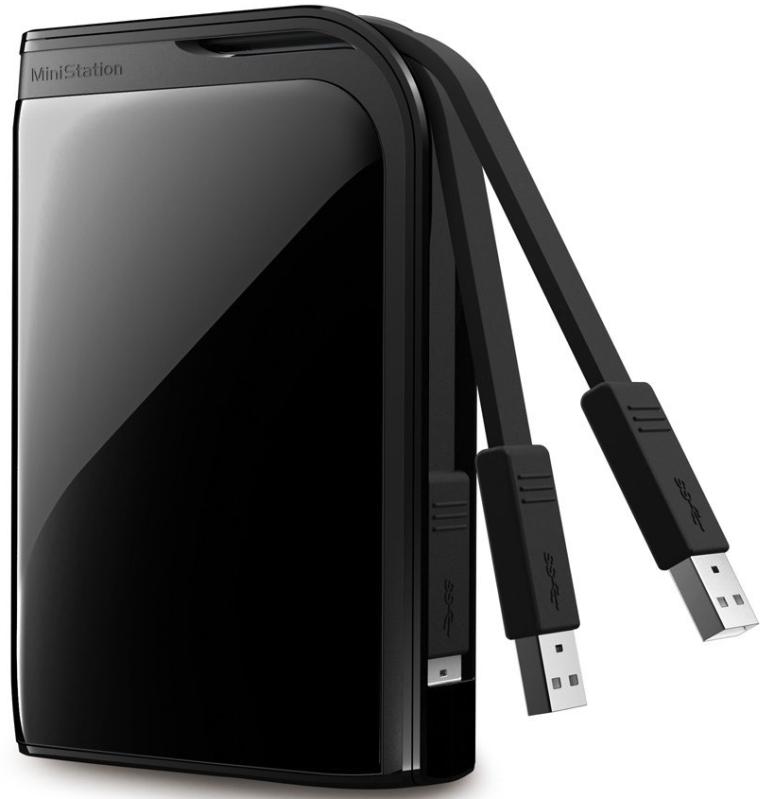 BUFFALO MiniStation Extreme 2 TB USB 3.0 Portable Hard Drive