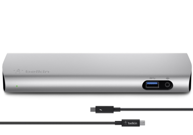 Belkin Thunderbolt 2 Express Dock HD with 1-Meter Thunderbolt Data Transfer Cable