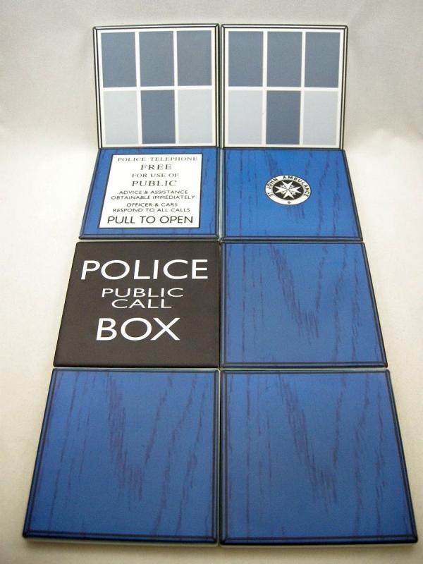 Doctor Who Coasters Tardis