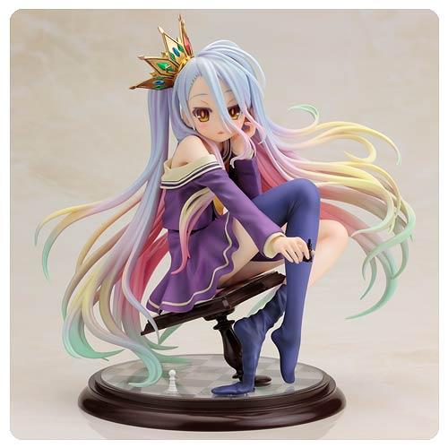 Game No Life Shiro 17 Scale Statue