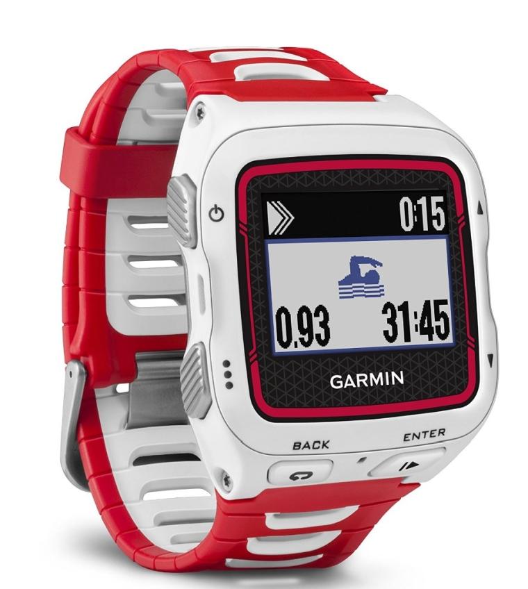 Garmin Forerunner 920XT WhiteRed Watch With HRM-Run