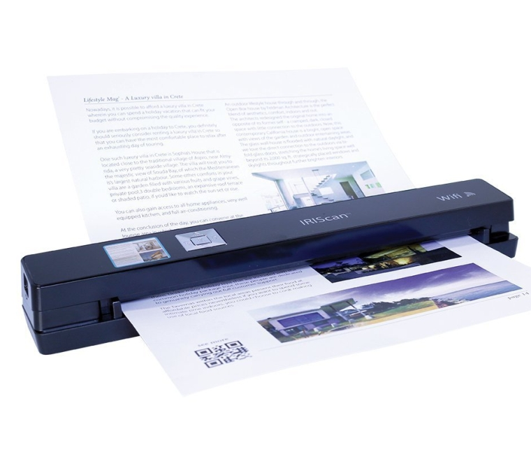 IRIScan Anywhere 3 Color Scanner with Wi-Fi